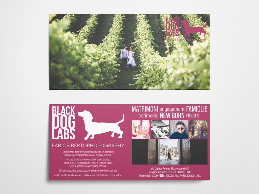 Black Dog Labs flyer